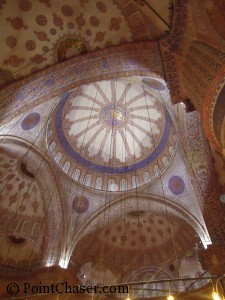 Blue Mosque Ceiling