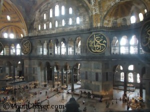 Hagia Sophia View from the Upper Gallery