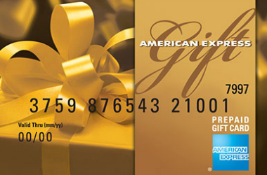 Cash back on American Express Gift Card