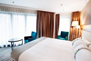 Best IHG Rewards Club Hotel Redemption Category 1 Holiday Inn Lodz Standard Queen Room