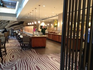 Review Hyatt Regency Sacramento Vines Cafe