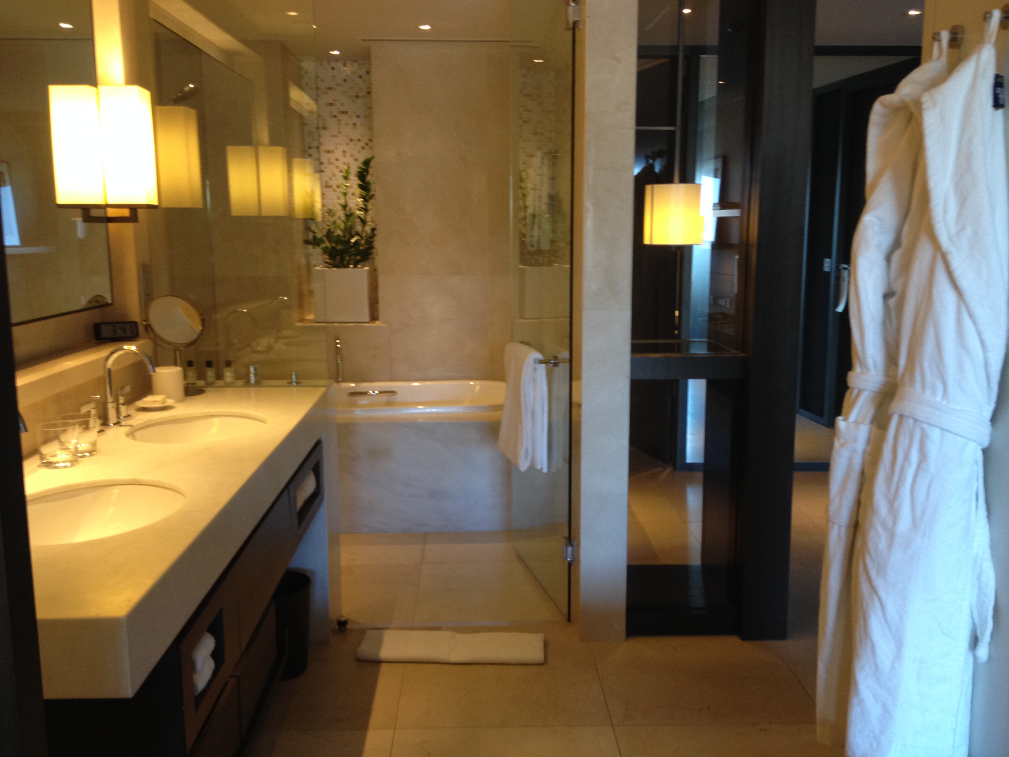 Park Hyatt Sydney Opera King Bathroom Shower And Tub