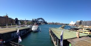 View from Circular Quay Train Station