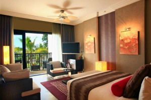 Deluxe Ocean View Room at the Intercontinental Mauritius Balaclava