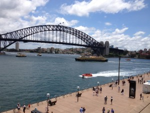 View of Harbour Bridge from the Sydney Opera House