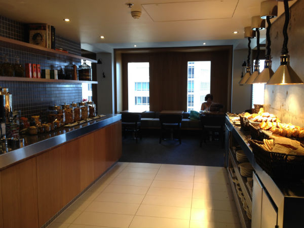 Hilton Sydney Executive Lounge Review Breakfast Bread and Cereal