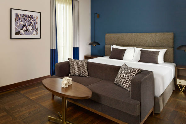 A Deluxe Room at the Metropol Palace Belgrade: Best Category 3 Starwood Hotels