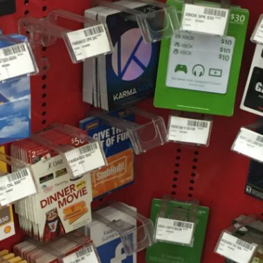 Gift Cards at CVS