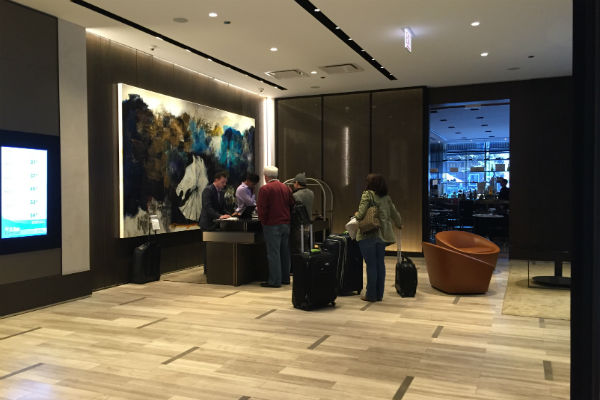 Hyatt Centric Chicago Downtown The Loop Lobby Front Desk