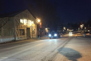 Leaving Main Street Unionville Ontario Stars Hollow Connecticut