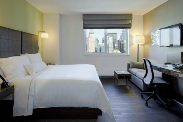 Best SPG Hotels Category 5 Element New York Times Square West Deluxe Room