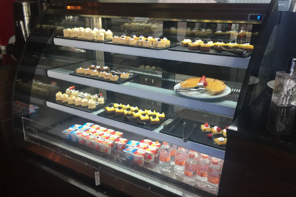 Desserts at the Coffee House Hyatt Ziva Los Cabos