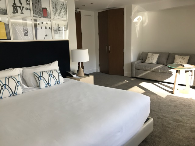 Review of Kimpton Ink48 Hotel Standard Room in Hell's Kitchen