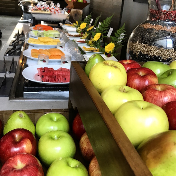 Fruit Buffet Spread at Nizuc Resort Cancun