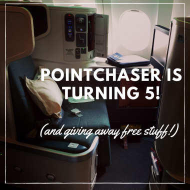 Pointchaser 5th Anniversary Giveaway