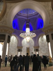 Sheikh Zayed Mosque Abu Dhabi Chandelier