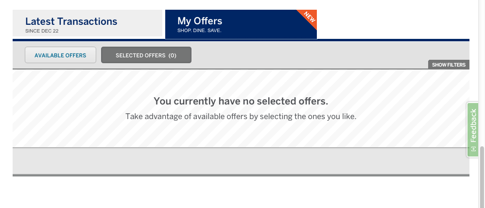 My Offers by American Express