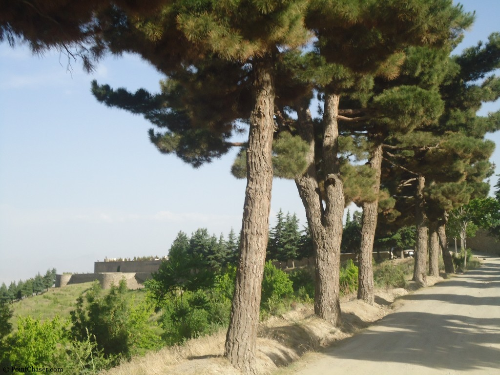 Military fort in Paghman
