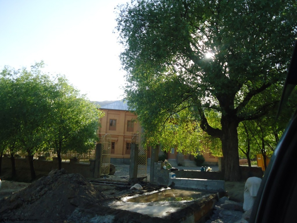 House under construction in Paghman