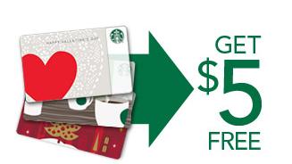 Starbucks Rewards $5