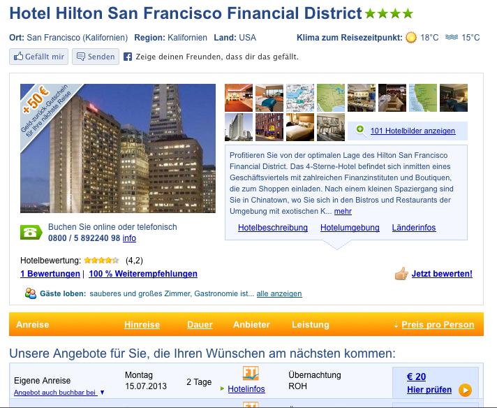 Mistake Rate Hilton San Francisco