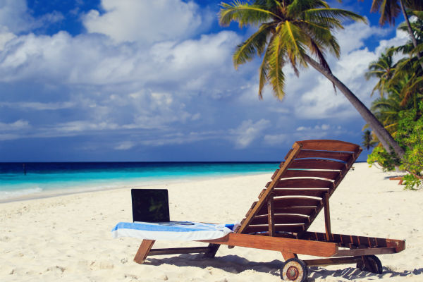 Get this travel blogging thing right and this could be your office