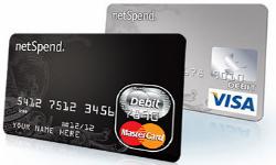 NetSpend Visa MasterCard Prepaid Card