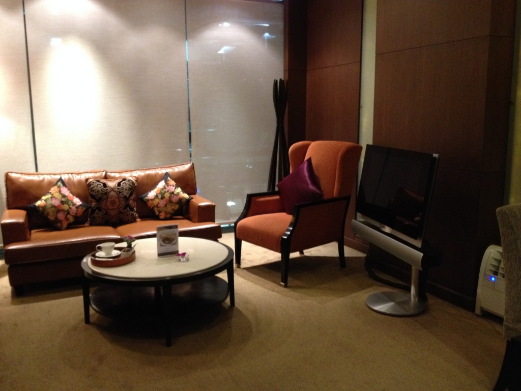 Private Room at Thai Airways Royal First Class Lounge Bangkok Suvarnabhumi Airport