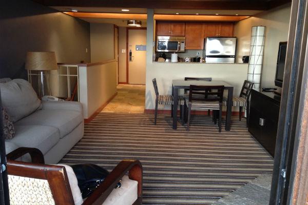 Hyatt Carmel Highlands Townhouse Spa Suite living room
