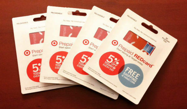 The coveted Target Prepaid REDcards