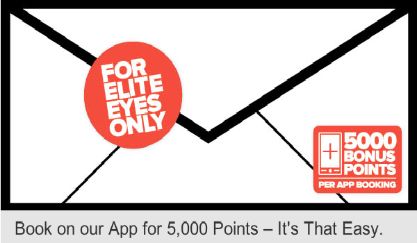 Club Carlson Elite 5000 point mobile booking bonus