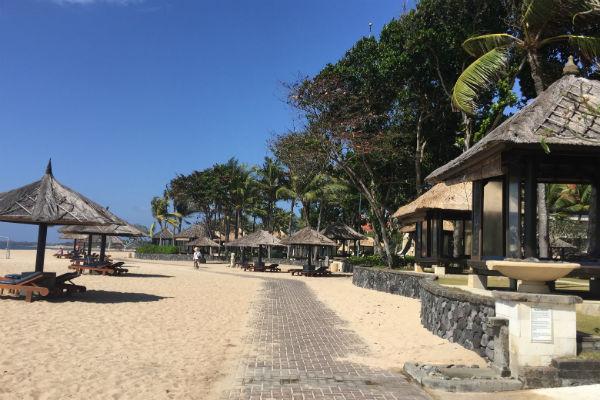 Conrad Bali Beach Cabanas