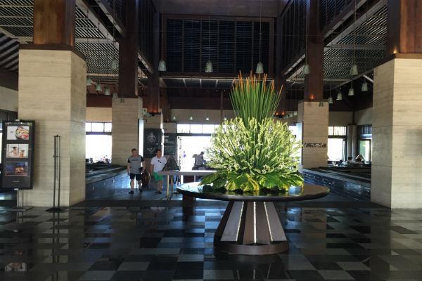 Conrad Bali main check-in area
