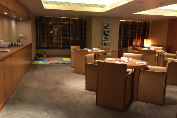 Family Room at the Grand Club Lounge Grand Hyatt Singapore