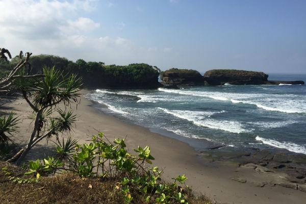 The Beach in front of Villa Bulung Daya