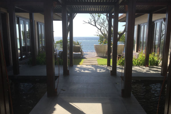 Conrad Bali Penthouse Suite Deck