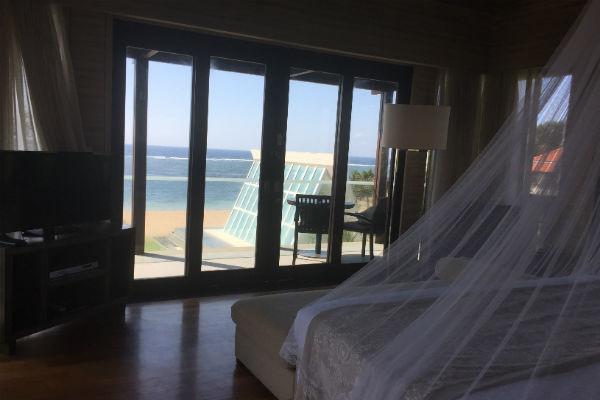 Conrad Bali Penthouse Suite Master Bedroom & Balcony