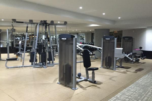 Weights at Hyatt Ziva Los Cabos Gym