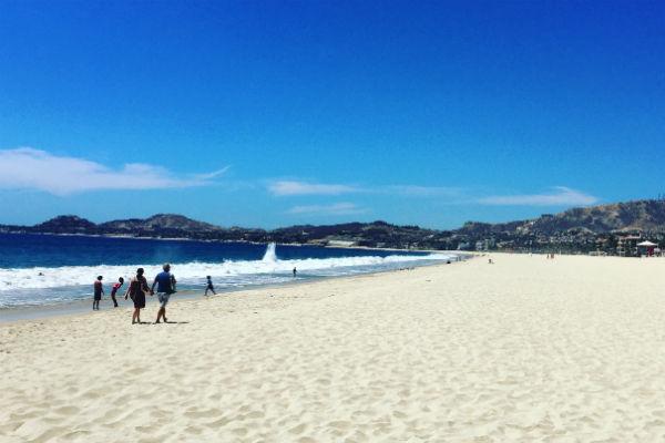 The beach at Hyatt Ziva Los Cabos