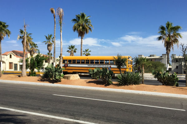 Bus to downtown San Jose del Cabo