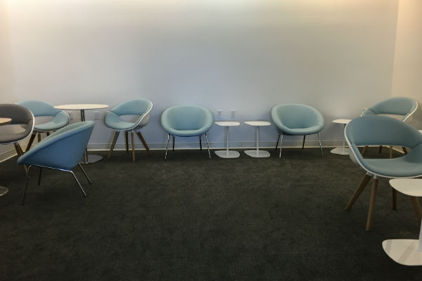 Quiet Room at the Air France KLM Lounge SFO