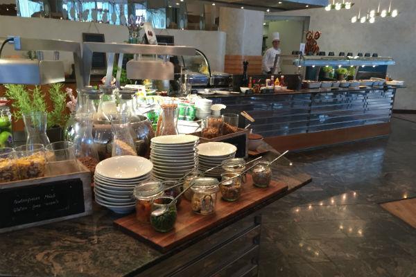 Hilton Munich Airport Breakfast Buffet