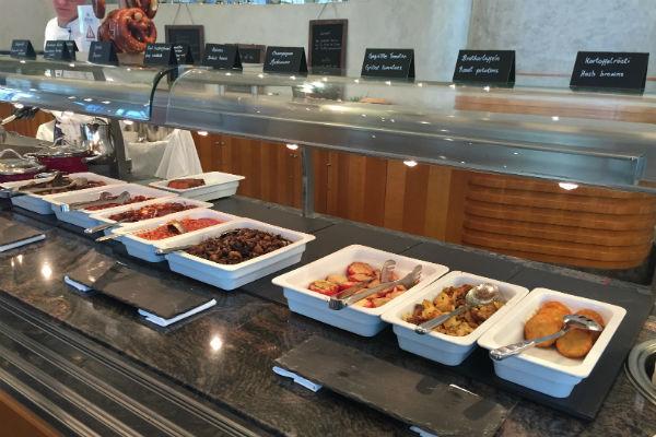 Charles Lindbergh Restaurant Breakfast Buffet Hot Items