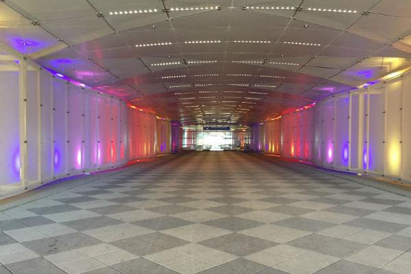 Hilton Munich Airport Hotel Building Basement Entrance