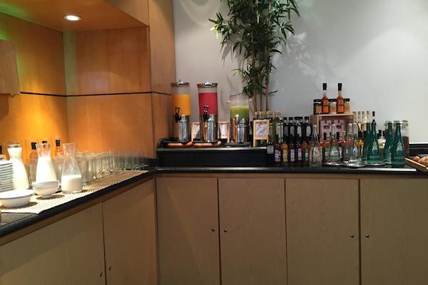 Hyatt Regency CDG Paris Breakfast Buffet Drinks