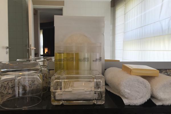 Verbena Bath Products at the Hyatt Regency Paris Charles de Gaulle