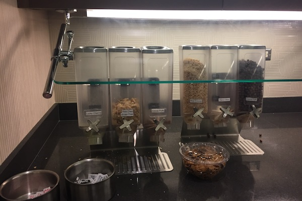 Breakfast cereal at Hyatt Place Chicago Downtown The Loop