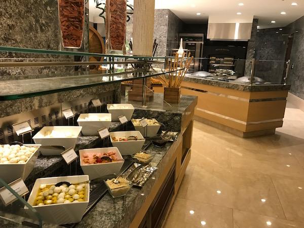 Conrad Makkah Al Mearaj Restaurant Breakfast Buffet Food