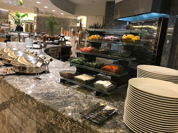 Review endless breakfast buffet at Conrad Makkah's Al Mearaj Restaurant