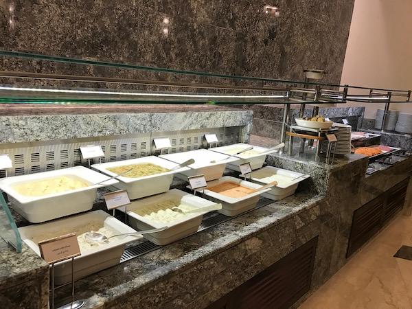 Conrad Makkah Al Mearaj Restaurant Breakfast Buffet Hummus